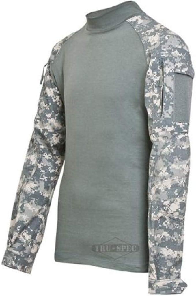 Tru-Spec TRU Combat Long-Sleeve Shirt Poly-Cot Desert Digi//Sand NEW LR