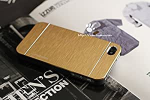 compatible with iphone6 4.7IN/iphone 6plus5.5IN Metal wire drawing texture Untral-thin apple iphone protection case