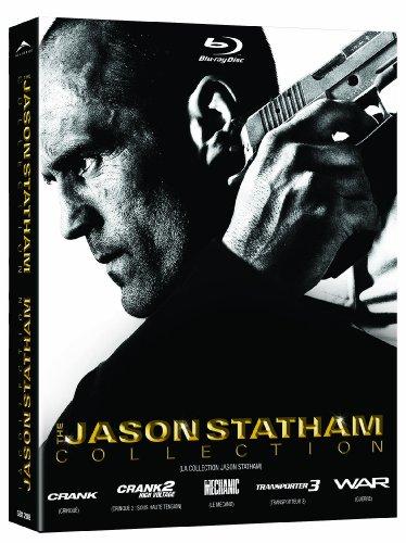The Jason Statham 5 Movie Collection (The Mechanic / Crank / Crank 2: High Voltage / War / Transporter 3) [Blu-ray]