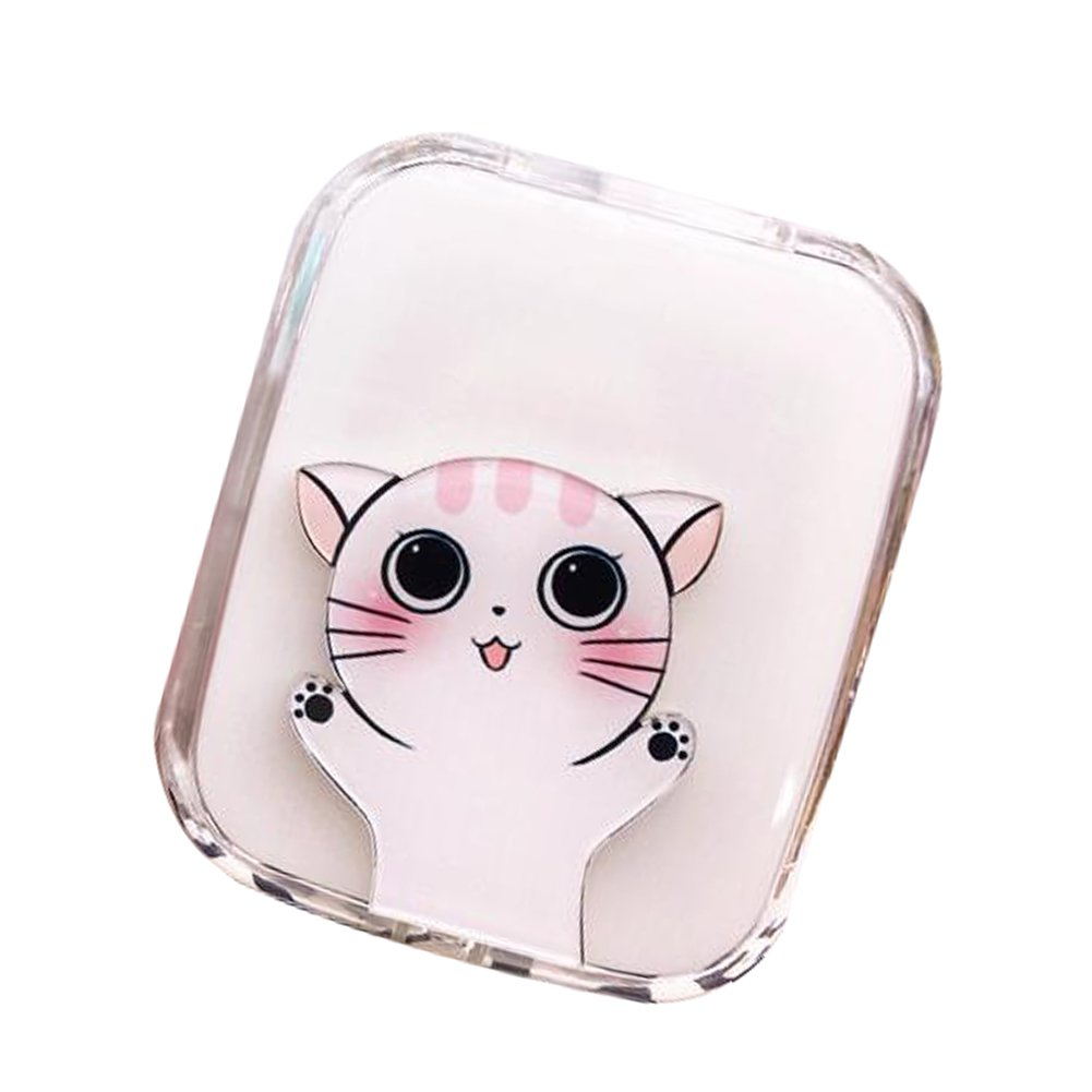 Travel Portable Contact Lens Case Cute Eye Care Container Holder Box #02