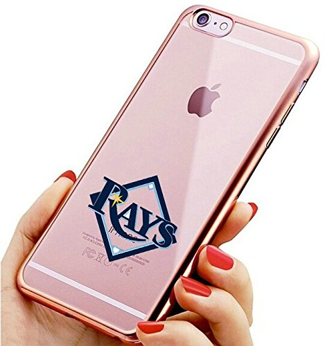 Rays iPhone 6s Plus Case,Slim Fit Electroplate Soft Silicone TPUBack Cover for iPhone 6 Plus / iPhone 6s Plus Rose Gold