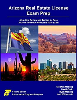 Download for free Arizona Real Estate License Exam Prep: All-in-One Review and Testing to Pass Arizona's Pearson Vue Real Estate Exam