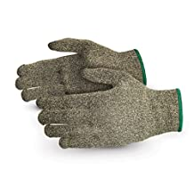 Superior Glove Works S13KF Kevlar/Fiberglass String Knit Glove, Work, Cut-Resistant, 13 Gauge Thickness, Size 8 (Pack of 1 Pair)