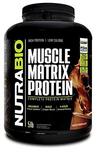 NutraBio Muscle Matrix Protein - Dutch Chocolate