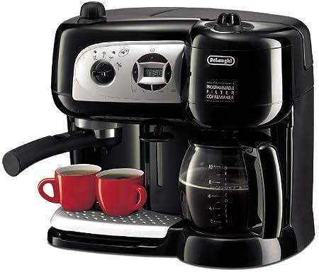 DeLonghi BCO 264 Coffee/Espresso Maker - Cafetera (Cafetera combinada, Negro): Amazon.es: Hogar