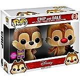 Funko POP Disney: Chip & Dale Flocked Vinyl Figures - 2 Pack SDCC 2017 Exclusive