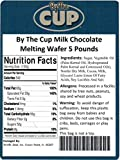 By The Cup Milk Chocolate Wafer Candy Melts 5 Pound