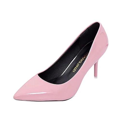 ELEGANTE DAMEN PUMPS Office High Heels Klassische Schuhe