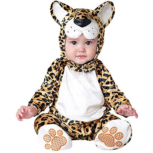 Toddler Baby Infant Boy Leopard Halloween Dress Up Costume Outfit