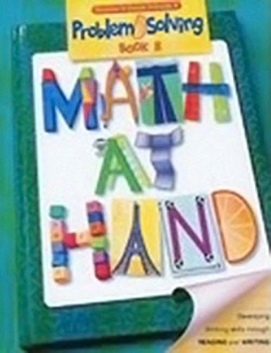 Download Math at Hand Problem Solving: Teacher's Guide Grade 6 2003 PDF