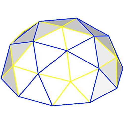 Sonostar Hub - Geodesic 2V - 1''   1.5'' PVC Mega Hub Only Scaleable Dome Connector Kit (White) (USE WITH 1.5'' PVC   2.5'' Bolts) by Sonostar Hub