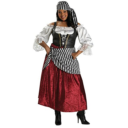Wench Costume Size 18 (Adult Plus Pirate's Wench Costume Size: Women's Plus 18-22)