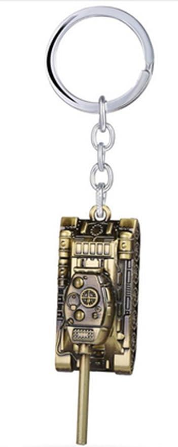 Tanques clave cadena tanque militar llavero joyería juego de regalo de Llaveros de metal para titular de la clave Souvenir: Amazon.es: Oficina y papelería
