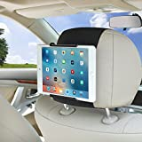 Tablet Car Mount WANPOOL Car Headrest Mount Holder Compatible with 7 – 10.5 Inch iPads and Tablets