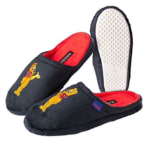 Pantoffeln Hausschuhe HARIBO blau Damen Mädchen Größe: 36 - 41 - Zapatillas de estar por casa de tela para mujer Azul azul