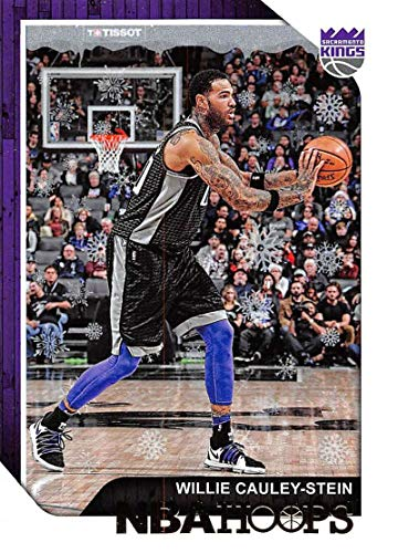 2018-19 Panini NBA Hoops Winter/Holiday/Christmas #27 Willie Cauley-Stein Sacramento Kings Official Basketball Card