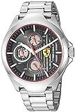 Ferrari Men's 'Aero' Quartz Stainless Steel Casual Watch, Color...