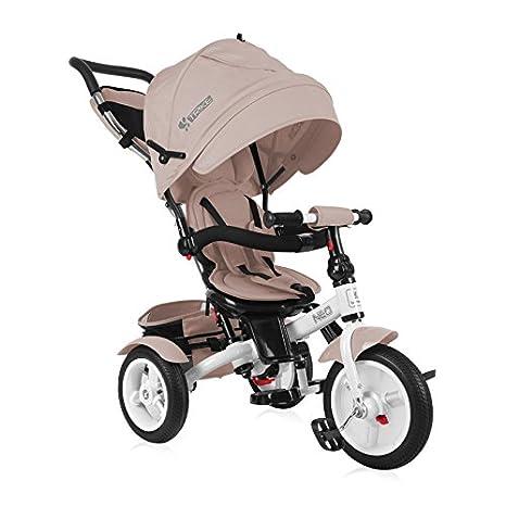 Lorelli Neo triciclo bebé/niño con ruedas hinchables Beige: Amazon ...