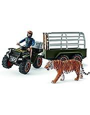 Schleich SC42351 Quad Bike with Trailer and Ranger Playset