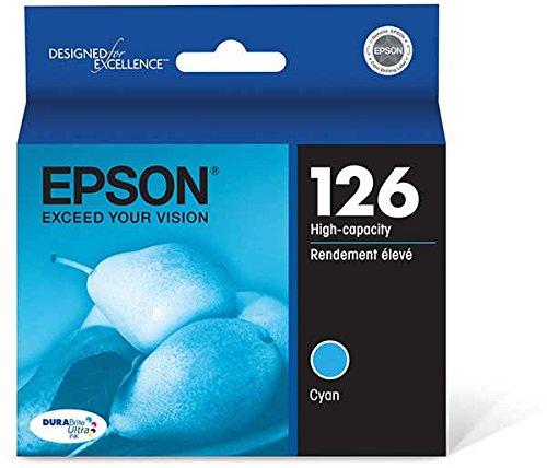 EPSON BR WORKFORCE 520, 1-HI YLD CYAN INK T126220 by EPSON ()