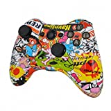 ModFreakz™ Shell/button Kit Hydro Dipped Collection Graffiti (NOT A CONTROLLER, For Xbox 360 Controllers)