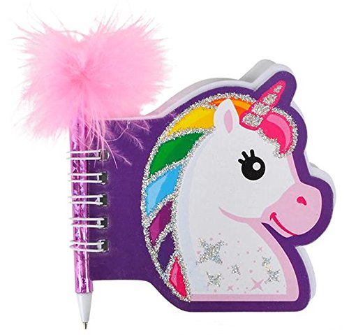 toyco Unicorn Pen and Notepad Sets - 6 ()