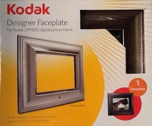 Kodak Camera Faceplates - Designer Faceplate for Kodak DPF800 Digital, Beaded Brushed Metallic
