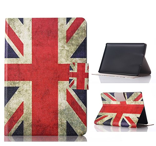 Kindle Paperwhite Case, Moozapler® British Design Pattern PU Leather Flip Stand Protector Case Cover Skin For 6