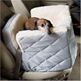 Dog Supplies Lookout I Dog Car Seat - Medium / Baby Pink Vinyl from Snoozer