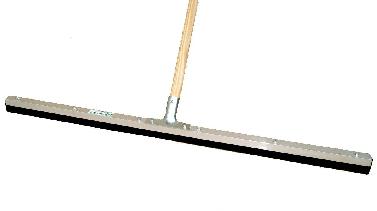 BawiTec Tergipaivmento professionale 100 cm in gomma livello industriale manico XXL Stiel 140cm Metallo Nero