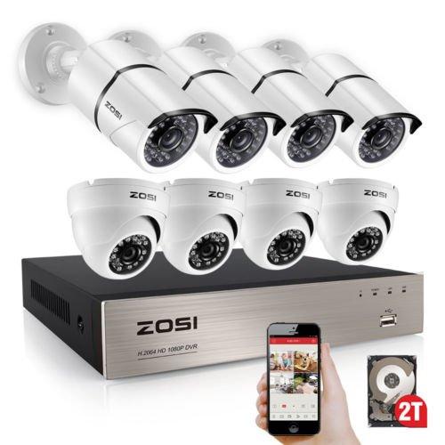 ZOSI Weatherproof Surveillance Customizable Detection product image