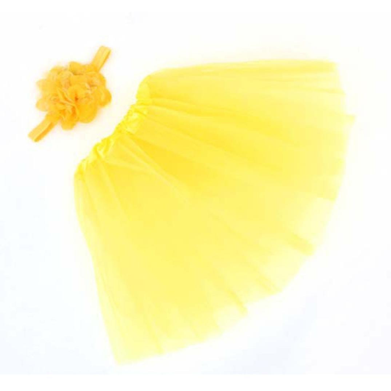 Ouneed/® Naissance Bebe Bandeau Cheveux Rose Tutu Jupe Pour Bapt/ême