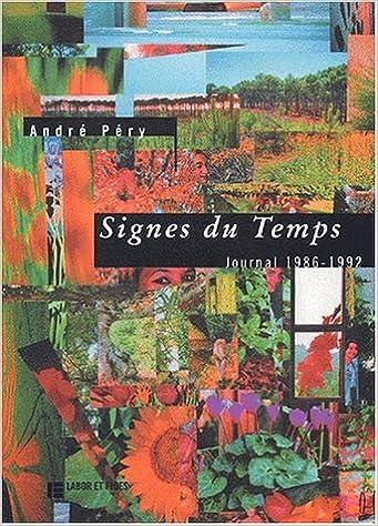 Téléchargement Signes du temps. Journal 1986-1992 pdf ebook