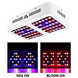 Morsen Reflector-Series Full Spectrum for Indoor Plants, Veg and Bloom Switch LED Grow Light, 600W