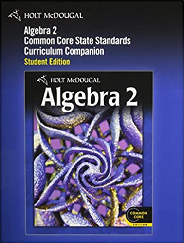 Amazon holt mcdougal algebra 2 common core curriculum holt mcdougal algebra 2 common core curriculum companion student edition 2012 1st edition fandeluxe Image collections
