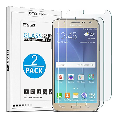 Tempered Glass Screen Protection for Samsung Galaxy J7 (Clear) - 6