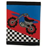 Stephen Joseph Motocross Wallet, 1-Pack