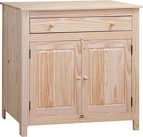 Solid Pine Unfinished Deluxe (Solid Pine Unfinished Cabinet)