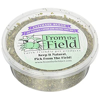 CatNip for Cats From The Field Ultimate Blend Silver Vine/Catnip Mix Tub [tag]
