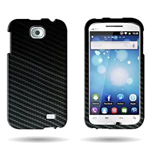 CoverON® Slim Hard Case for BLU Studio 5.3 II D540 D550 with Cover Removal Tool - (Black Carbon Fiber)