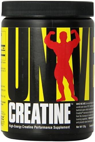 Universal Nutrition Creatine Micronized Kreatin Leistungsfähigkeit Regeneration Fitnes 120g (Unflavored - Geschmackslos)