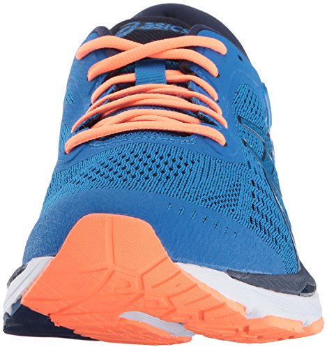 Blue Asics Gel Kayano 24 Synthetik Directoire Orange Hot Laufschuh Peacoat YO7aOWg1