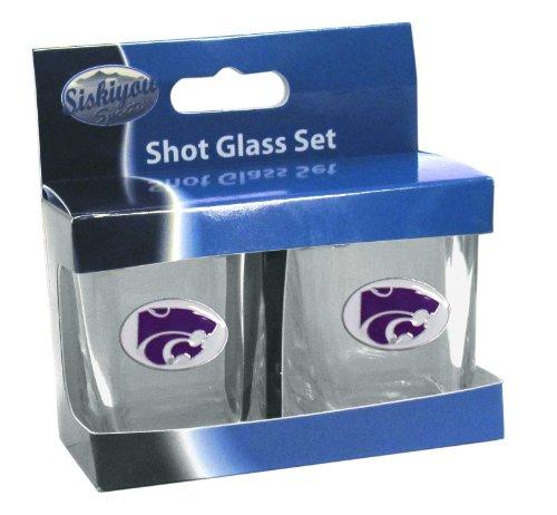 Siskiyou NCAA Kansas State Wildcats Shot Glass Set ()