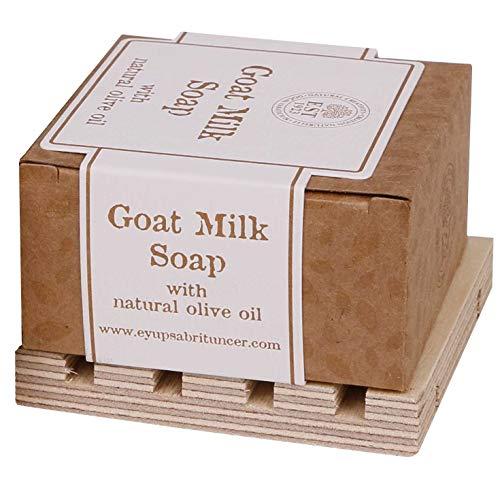 Savon de Marseille - EYUP SABRI TUNCER - Goat's Milk Soap with olive oil (Olive Oil Goats Milk Soap)