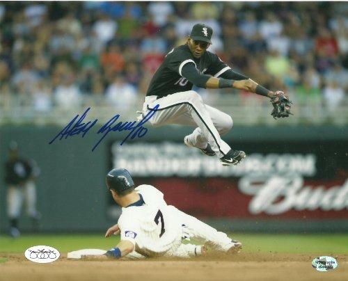 ALEXEI RAMIREZ Signed Glossy 8x10 JSA Stamp Chicago White Sox Autographed Photo