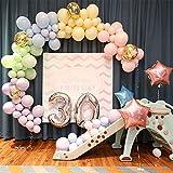 5 Inch Mini Multicolored Party Pearl