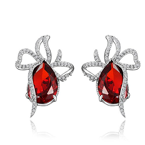 BLOOMCHARM Exquisite&Fancy Design Stud Fashion Dangle Drop Long Earrings Jewelry, Gifts for Women Girls