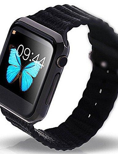 Lincass V9 Bluetooth 4.0 Reloj Inteligente con ritmo cardíaco monitor para iOS & Android GSM SmartWatch relojes: Amazon.es: Electrónica