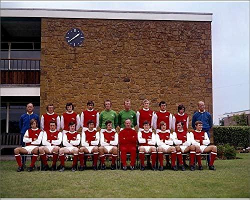 1970-71 4442193 Media Storehouse 10x8 Print of Arsenal team group