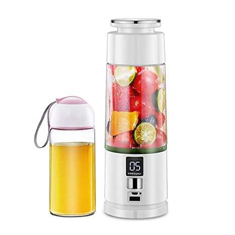 Inalámbrico Exprimidor Eléctrico Botella USB Recargable-Automático De Frutas Taza De Hielo Mezclador Portátil Mini